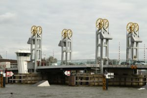 Stadtbrücke Kampen. Foto Sybylle Kroon