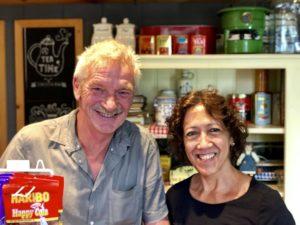 Frans und Wendy de Haas. Foto Sybylle Kroon