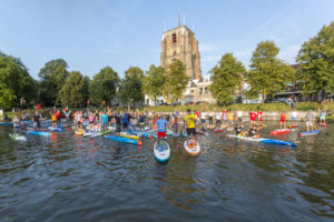 Start Sup-Elfstädtetour Leeuwarden - Friesland. Foto Mayola Dijksman