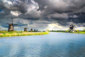 Kinderdijk Alblasserwaard. Foto PIxabay