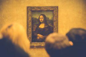 Mona Lisa, Parijs. Falsch in Vledder. Foto PixaBay