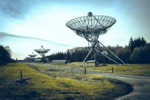 Teleskope Hooghalen. Foto PixaBay