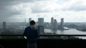 Aussichtspunkt über Rotterdam. Foto Pixabay