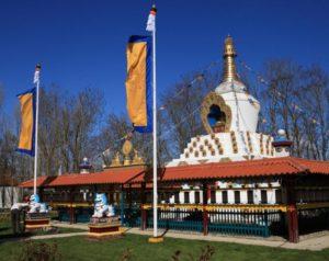 Stupa Hantum. Foto van website.